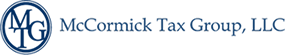 McCormick Tax Group LLC. Sticky Logo